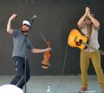 Vystoupení skupiny Rapidgrass z amerického Colorada na letní scéně Eurocentra