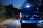 Nehoda tří aut na silnici I/14 mezi obcí Tanvald a Smržovka