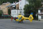 Dopravní nehoda na Smržovce, při které byla sražena žena s dítětem v kočárku