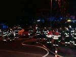 Zásah hasičů u panelového domu v Liberci V - Kristiánov