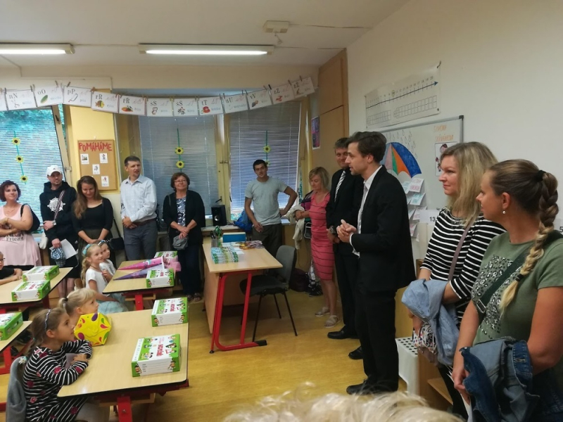 Zahájení školního roku v ZŠ Šumava Jablonec
