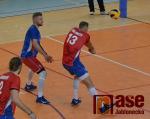 Volejbalové utkání Česko - Portugalsko v jablonecké hale
