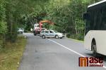 Nehoda na silnici u Dalešic