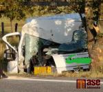 Tragická nehoda na silnici I/13 u Jítravy ve směru do Liberce