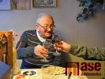 Fotografie z oslavy 94 narozenin v prosinci loňského roku