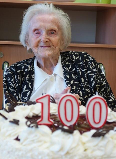 Oslava 100. narozenin Marie Reslové