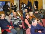 Na zastupitelstvo se do Lučan přišlo podívat několik občanů.