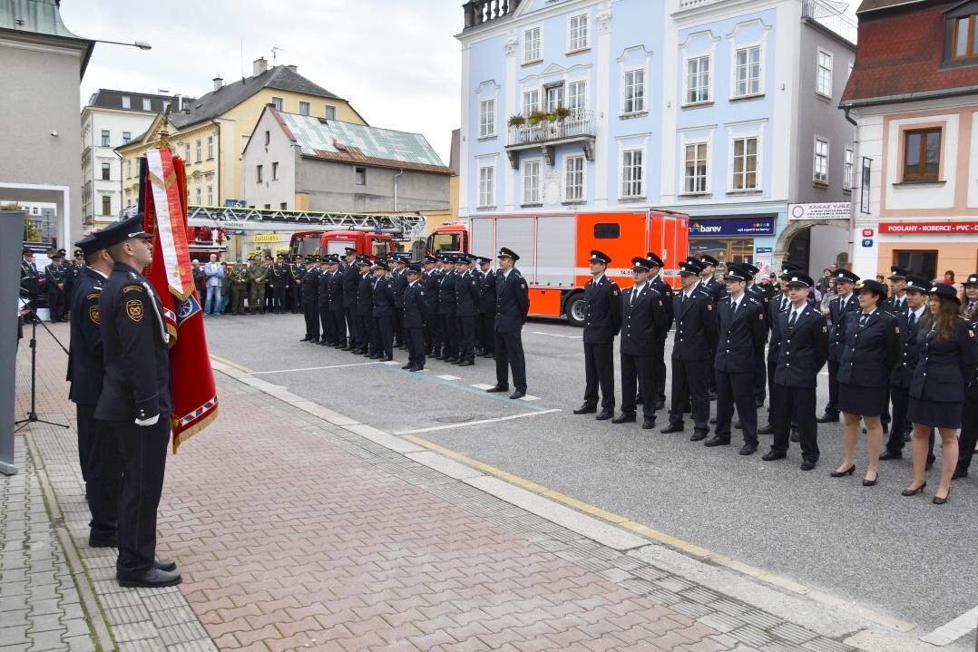 Oslavy 110. výročí otevření hasičské zbrojnice v Liberci<br />Autor: HZS Libereckého kraje