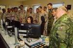 Příslušníci jordánských ozbrojených sil při návštěvě na stanicích hasiců v Liberci a Jablonci