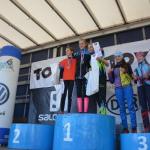 Finále poháru přespolních běhů krajského svazu lyžařů v libereckém Vesci