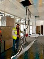 Stavba pavilonu intenzívní medicíny v jablonecké nemocnici