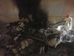 Požár v podkroví rekreačního objektu v Josefově Dole