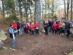 Slavnostní odhalení a požehnání Háje hrdinů v Jabloneckých Pasekách