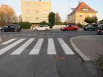 Dvě dopravní nehody aut s chodci v Jablonci nad Nisou