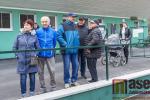 Slavnostní otevření nové dráhy ve Velkých Hamrech
