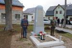 Odhalení  památník, který v Jablonci připomíná oběti I. světové války