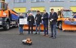 Představení nových vozidle společnosti Silnice LK