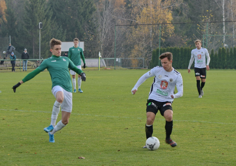 Utkání ČFL FK Jablonec B - FC Hradec Králové B