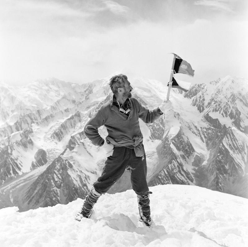 Vilém Heckel na expedici Hindúkuš 1965<br />Autor: Archiv JKIC
