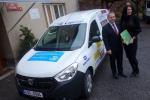 Předání automobilu pro handicapované ženy z Domova Lesní v Jablonci nad Nisou