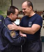 Poslední směna příslušníků HZS Libereckého kraje, kteří se rozloučili se svou dlouholetou kariérou