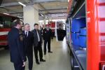 Jablonečtí hasiči převzali nový technický automobil v chemickém provedení TA-L1CH