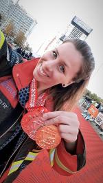 Hana Havlíčková na závodech