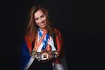 Hana Havlíčková s trofejemi