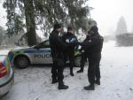 Policisté kontrolovali v Bedřichově rekreační chaty