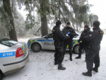 Policejní kontroly chat v Bedřichově