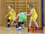 Zápas 1. basketbalové ligy žen Bižuterie Jablonec - Žabiny Brno B