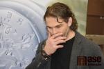 Jaromír Jágr v jablonecké mincovně