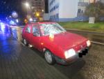 Místo střetu auta s chodkyní v Železném Brodě