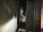 Požár bytu v činžovním domě v Jablonci nad Nisou