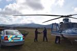 Předání rychlotestů na Covid-19 od policistů Libereckému kraji