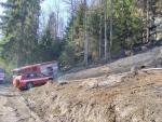 Požár lesa Křenovy u Troskovic