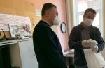Předání respirátorů v Rychnově
