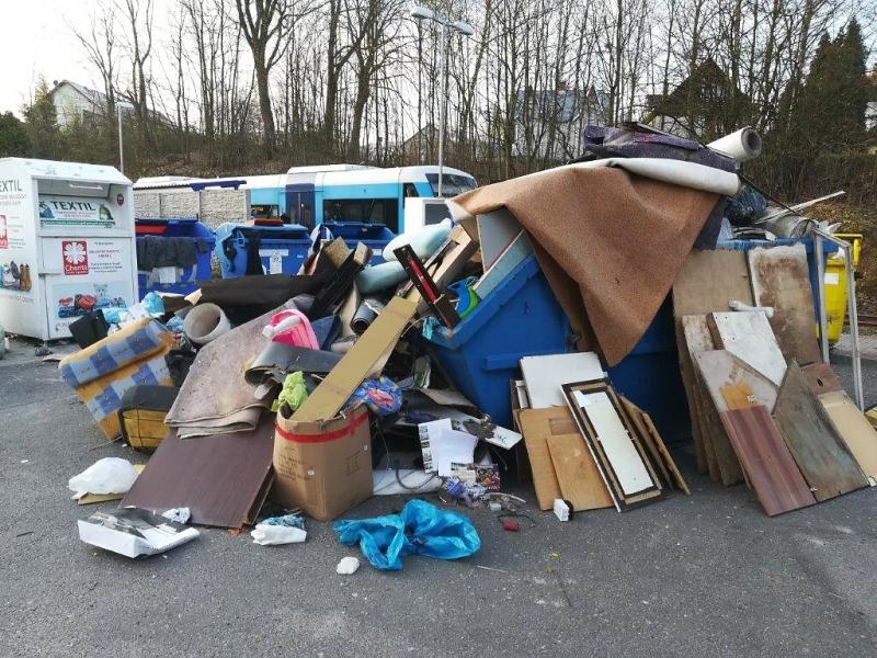 Kontejnery na velkobjemový odpad