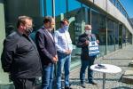 Předání šeku pořadatelů Jizerské 50 pro TU Liberec
