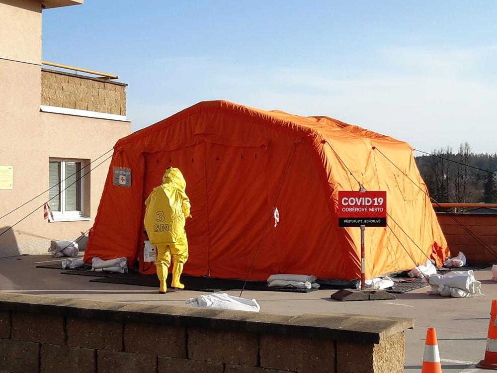 Činnost krajských hasičů v nouzovém stavu<br />Autor: HZS Libereckého kraje