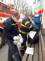 Činnost krajských hasičů v nouzovém stavu