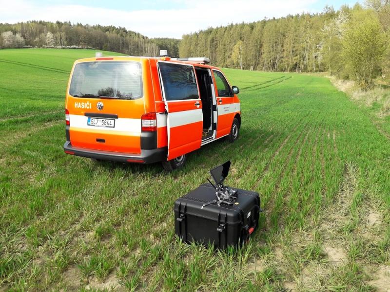 Bezpilotní letoun - dron pro hasiče v Libereckém kraji<br />Autor: HZS Libereckého kraje