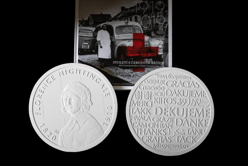 Medaile ČČK a České mincovny