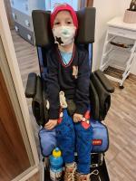 Šestiletý Matěj s dětskou mozkovou obrnou z České Lípy