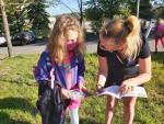 Děti se mohly setkat u přechodů s policisty, koordinátorkou BESIP a Týmem silniční bezpečnosti