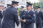 Předání služebních medailí Hasičského záchranného sboru ČR na stanici v Liberci