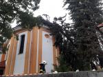 Zásahy hasičů po bouřce v Libereckém kraji
