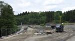 Aktuální stav rekonstrukce křižovatky Rádelský mlýn