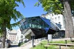 Přístavba jabloneckého muzea v podobě krystalu