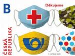 Známky s poděkováním všem záchranářům, hasičům, armádě, policii i pošťákům